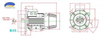 اجزاء-موتور-تکفاز-دوخازنه-موتوژن